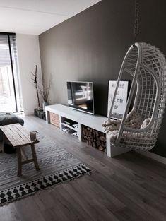 Best 35 Home Decor Ideas - Lovb Small Living Rooms, Living Room Grey, Home And Living, Living Room Designs, Living Room Decor, 3d Home, Home Furniture, House Design, Interior Design