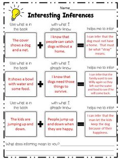 Inference Activities on Pinterest | Inference, Making Inferences and ...