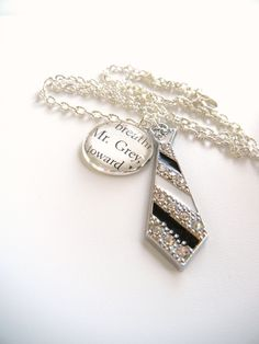 "Fifty Shades of grey Trilogy  ""Mr. Grey"" book charm Necklace. $19.00, via Etsy."