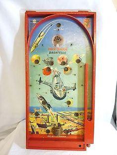 VINTAGE DAN DARE SPACE ROCKET BAGATELLE GAME circa 1950's #WO# | eBay