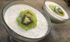 Flan à la Noix de Coco et Kiwi sans lactose