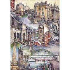 Newcastle Upon Tyne, Collage