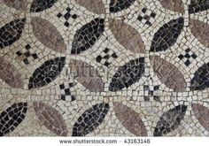 4 petal mosaic with checks