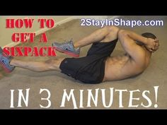 How to get a six pack in 3 minutes- How To Get SixPack Abs Cheat Workout, Best Workout Plan, Workout Guide, Workout Style, Workout Plans, Sixpack Abs Workout, Dumbbell Workout, Gym Program, Workout Programs