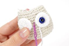 tiny crocheted owl pattern