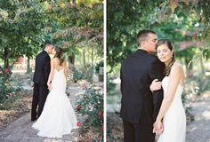 Fine Art Film Tuscan Vineyard Wedding | Magnolia Rouge | Emily March Photography