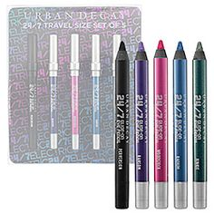Urban Decay - 24/7 Glide-On Eye Pencil Travel Size Set of Five - Electric  #sephora  NOV. 2011