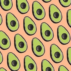 Avocados Pattern by Sara Combs | DesignComb