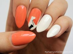 white, paint, paintroller, brush, nails, nai art, manicure http://mycherrynails.blogspot.com/2014/04/paznokcie-pomalowane-farba.html