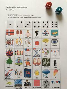 17.mai – Språkhjerte Party Themes, Theme Parties, Red White Blue, Calendar, Education, Holiday Decor, School, Celebrations, Crafts