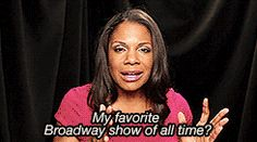 And she's just like us! She understands the excruciating dilemmas all Broadway lovers go through. | Definitive Proof That Audra McDonald Is The Queen Of Broadway