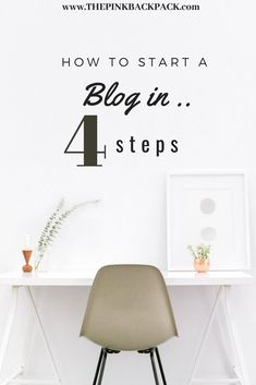 Have you always wanted to start a blog? It is NOT too late and definitely not as complicated as you might think. This article breaks down how exactly to get started in just 4 easy steps. #thepinkbackpack  #blogging #blog #travelblog How To Start A Blog, How To Get, Solo Travel Tips, Travel Images, Travelogue, Culture Travel, Blogging, Digital Nomad, Weekend Getaways