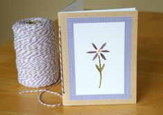 Make a Handmade Journal From a Card for Mother's Day