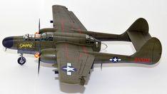 Hersteller: HobbyBoss| Sparte: Historische Flugzeuge | Katalog Nummer: 87261 - US P-61A Black Widow Maßstab: 1:72 | Einzelteile: 91 | Länge: 210mm | Spannweite: 279mm Black Widow, Scale Models, Fighter Jets, Aircraft, World, Locomotive, World War Two, Catalog, Aviation