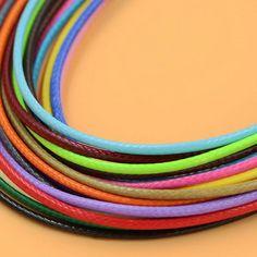 1mm Braided Metallic cord thread Great for crochet macrame trim stitch 5M 10M