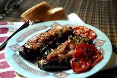 Ιμάμ μπαϊλντί Greek Cooking, Vegetarian Cooking, Vegetarian Recipes, Healthy Recipes, Cookbook Recipes, Cooking Recipes, Cooking Food, Greek Recipes, Vegetable Dishes