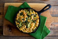 Whole Grain Macaroni and Cheese with Broccoli