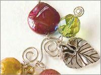 Falling Leaves Bracelet by Beth Garbo