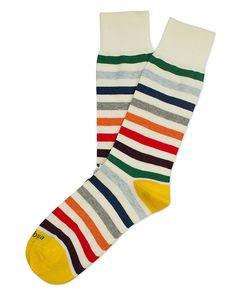Etiquette Clothiers East River Stripe Socks