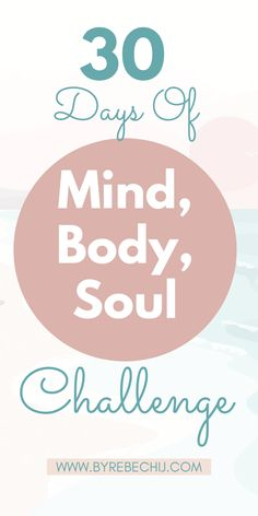 Are you ready for another Wellness, Self Care, Self Love challenge and change your life for the better? This time it's Mind, Body, Soul Challenge, where you will challenge yourself in different aspects of your being. It's made for your wellbeing and personal growth! #mindset #wellness #healthylifestyle #selfcarechallenge #selflove