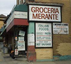 Groceria Merante, Oakland, Pittsburgh, PA