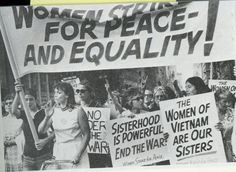 Women's Strike for Equality in New York around Fifth Avenue August 26, 1970