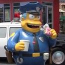 The Simpsons Fast Food Boulevard at Universal Studios now has Lard Lad doughnuts and Duff Beer garden