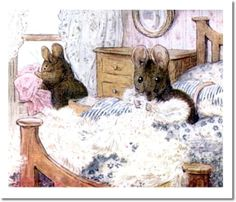 The Tale of Two Bad Mice - 1904 - Mice Throw Jane's Clothes Out the Window
