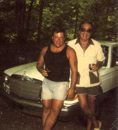 Gregory 'The Grim Reaper' Scarpa, Sr. on the right side, The Colombo Crime Family // Caporegime & Federal Witness.