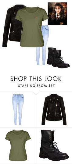 """""""Chapter 17 and 18: Vanessa"""" by kyanastyle ❤ liked on Polyvore featuring Glamorous, New Look, Fjällräven and Steve Madden"""