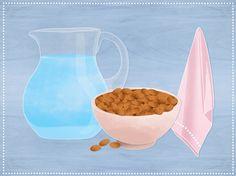 Mandelmilch selber machen - die Zutaten