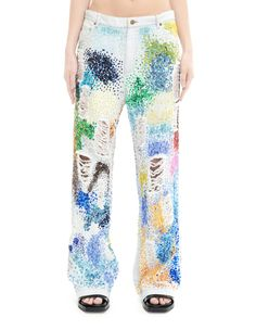 Cotton jeans by Ashish — SVMoscow