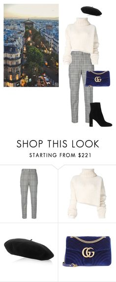 """""""Untitled #930"""" by annap-style ❤ liked on Polyvore featuring Alexander Wang, Ann Demeulemeester, Gucci, Prada and Yves Saint Laurent"""