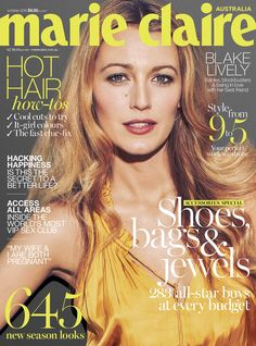 Blake Lively for Marie Claire October 2016