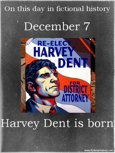 Name:Harvey DentBirthdate:December 7Sun Sign:Sagittarius, the Archer