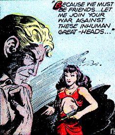 """Futura"" in Planet Comics #45 (1946) by John Douglas"