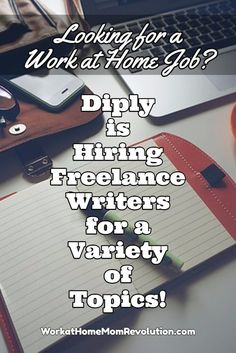 Diply is seeking freelance writers to create lifestyle and entertainment content. These home-based positions are available anywhere.  If you're seeking work from home, and you have writing skill, this might be perfect for you! You can make money from home! Find out more at Work at Home Mom Revolution: http://workathomemomrevolution.com