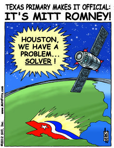 Rominee!  Romney wins Texas Primary and GOP Presidential Nomination!
