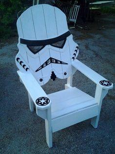 Yard Furniture, Outdoor Furniture Plans, Pallet Furniture, Rustic Furniture, Furniture Ideas, Office Furniture, Star Wars Furniture, Furniture Design, Funky Furniture