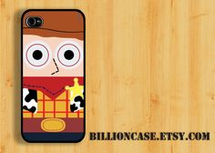 Woody Toy Story Movie Parody -  iPhone 5 4 / 4s Galaxy Case Hard Plastic Case Rubber Case. $15.99, via Etsy.