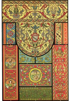 Photograph-Italian Renaissance embroidery and carpet-weaving, Creator: Unknown-Photograph printed in the USA Fine Art Prints, Framed Prints, Poster Prints, Branches Of Art, Art Chinois, Art Japonais, Oriental Pattern, Victorian Art, Byzantine