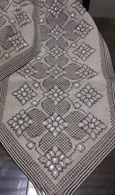 Bead Embroidery Jewelry, Beaded Embroidery, Knit And Crochet Now, Hgtv, Cross Stitch, Beads, Knitting, Lace Flowers, Crochet Blankets