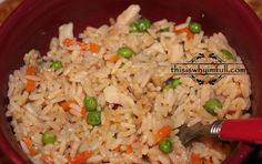 Chicken Fried Rice - http://www.thisiswhyimfull.com/dinner/chicken-fried-rice