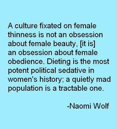 Naomi Wolf #Feminism #GirlPower