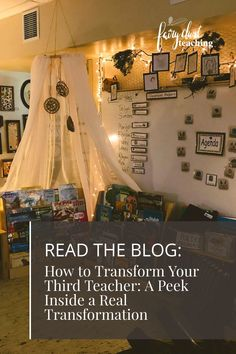 Transforming your third teacher (room) is something that can be as simple as focussing on just one area in your room and can change how your children interact instantly with each other and the materials!