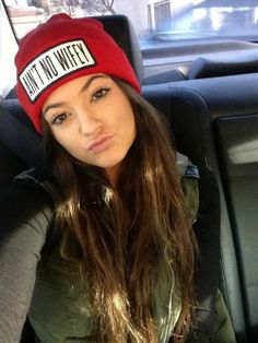 Kylie <3 i need this hat!!