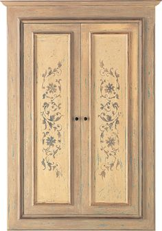High quality interior doors: traditional with handcraft decorations, of design created by Karim Rashid, or to design according to one's own taste. Painted Armoire, Painted Cupboards, Painted Doors, Armoire Makeover, Furniture Makeover, Furniture Decor, Funky Painted Furniture, Recycled Furniture, Door Texture