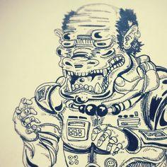 Mono astronauta?!!
