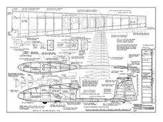 SZD Ogar - Howie Applegate - Flying Models - August 1977 - 72in