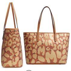 MCM Anya Leopard Print Congnag Gold Brown Leather Hobo Bag - Tradesy Hobo  Bag ef9015a719886